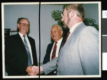 Image of Howard Perry's retirement function - Timaru Herald Photographs, Personalities Collection