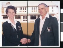 Image of Marion Patrick and Eric Hind - Timaru Herald Photographs, Personalities Collection