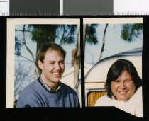 Image of Garth Kendall and Lavinia Robinson - Timaru Herald Photographs, Personalities Collection