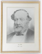 Image of H Cain 1870-1873 -
