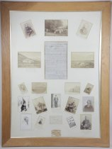 Image of Lest we forget! Mount Cook and some who have helped - Burnett Collection