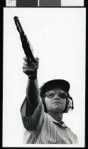 Image of Dawn MacDonald, pistol shooter - Timaru Herald Photographs, Personalities Collection