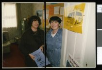 Image of Helen Macdonald and Mairead Robinson-Arnull - Timaru Herald Photographs, Personalities Collection