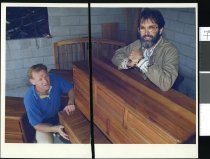 Image of Ken Wills and John Maclean - Timaru Herald Photographs, Personalities Collection