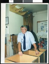 Image of Head Orderly Dave Marshall  - Timaru Herald Photographs, Personalities Collection