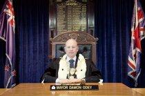 Image of Mayor Damon Odey -