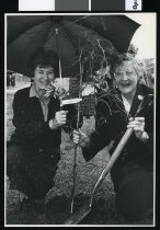 Image of National Council of Women tree planting - Timaru Herald Photographs, Personalities Collection