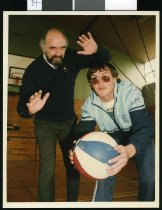 Image of Noel Meredith and Wain Sanders - Timaru Herald Photographs, Personalities Collection