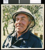 Image of Fairlie fire chief Noel Miles