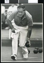 Image of Robin Milne, bowls - Timaru Herald Photographs, Personalities Collection