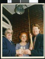 Image of Rita Minehan and family - Timaru Herald Photographs, Personalities Collection