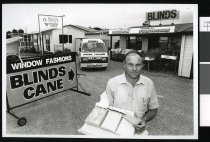 Image of Donald Moffat, Window Fashions - Timaru Herald Photographs, Personalities Collection