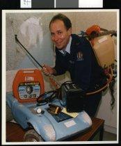 Image of Geraldine Police Constable David Moore - Timaru Herald Photographs, Personalities Collection