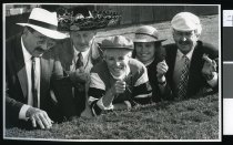 Image of Group in fancy dress - Timaru Herald Photographs, Personalities Collection