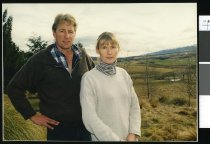 Image of Rachele and Andrew Morris - Timaru Herald Photographs, Personalities Collection