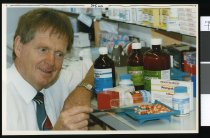 Image of Harold Moyle, chemist - Timaru Herald Photographs, Personalities Collection