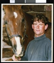 Image of Andrew Munro and Woodbine Havoc - Timaru Herald Photographs, Personalities Collection