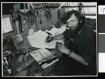 Image of Dick McBride, yachtsman - Timaru Herald Photographs, Personalities Collection