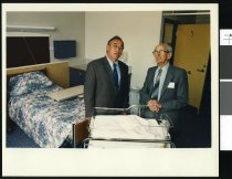 Image of Ross and Owen MacDonald - Timaru Herald Photographs, Personalities Collection