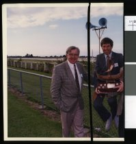 Image of Young Farmer Contest at Phar Lap Raceway - Timaru Herald Photographs, Personalities Collection