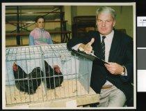 Image of Ashburton auctioneer Gordon McGregor - Timaru Herald Photographs, Personalities Collection