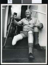 Image of David McKay, amputee - Timaru Herald Photographs, Personalities Collection