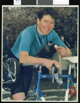 Image of Mark McKIrdy, cyclist - Timaru Herald Photographs, Personalities Collection