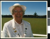 Image of Doreen McLay, bowls - Timaru Herald Photographs, Personalities Collection