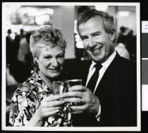 Image of Maurice McTigue and Barbara McTigue - ing Timaru Herald Photographs, Personalities Collection