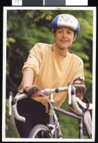 Image of Wendy Nelson, triathlete - Timaru Herald Photographs, Personalities Collection