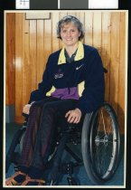 Image of Olympian Jenny Newstead - Timaru Herald Photographs, Personalities Collection