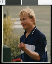 Image of Mark Nielsen, tennis player - Timaru Herald Photographs, Personalities Collection