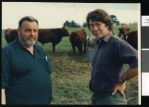 Image of Donald Shaver and Kevin O'Connell - Timaru Herald Photographs, Personalities Collection