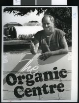 Image of Dick Olding, The Organic Centre - Timaru Herald Photographs, Personalities Collection