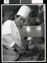 Image of David O'Neill, chef - Timaru Herald Photographs, Personalities Collection