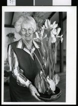 Image of Dorothy Parker, floral artist - Timaru Herald Photographs, Personalities Collection