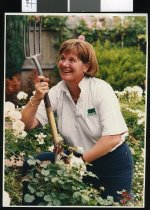 Image of Verna Parker, sports co-ordinator - Timaru Herald Photographs, Personalities Collection