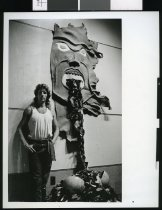 Image of Donald Paterson, sculptor - Timaru Herald Photographs, Personalities Collection