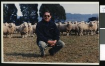 Image of Vince Peterson, veterinarian - Timaru Herald Photographs, Personalities Collection