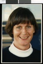 Image of Jocelyn Phiskie, netball umpire - Timaru Herald Photographs, Personalities Collection