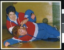 Image of Julian Pratt & Brendon Gare, wrestlers