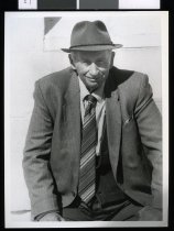 Image of Lionel Pratt, horse trainer - Timaru Herald Photographs, Personalities Collection