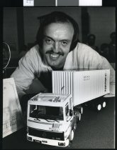 Image of David Priest, Timaru Model Truck Club - Timaru Herald Photographs, Personalities Collection
