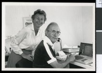 Image of Brian and Vera Priestley - Timaru Herald Photographs, Personalities Collection