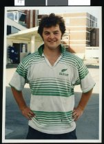 Image of Jock Prue, rugby player - Timaru Herald Photographs, Personalities Collection
