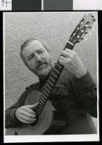 Image of Stepan Rak, classic guitarist - Timaru Herald Photographs, Personalities Collection