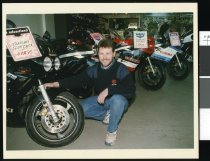 Image of Grant Ramage, Motorcycle World - Timaru Herald Photographs, Personalities Collection