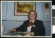 Image of Audre Ramsay, real estate agent - Timaru Herald Photographs, Personalities Collection