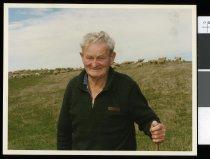 Image of Boyd Rapson, octogenarian farmer - Timaru Herald Photographs, Personalities Collection