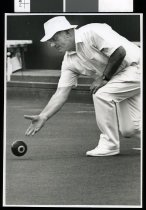 Image of Keith Richardson, bowls - Timaru Herald Photographs, Personalities Collection